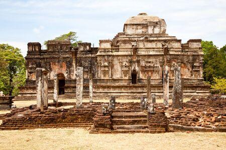 thuparama, polonnaruwa, sri lanka photo