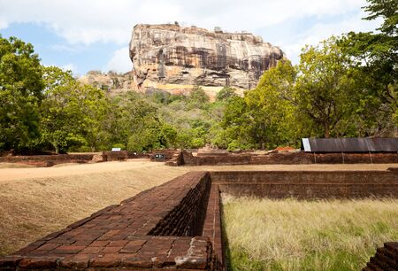 sigiriya lion rock, sri lanka Stock Photo - 10666093
