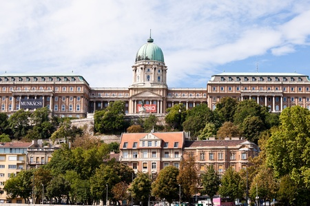 hill of the king: buda castle in budapest, hungary Editorial
