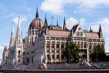 building of the parliament, budapest, hungary