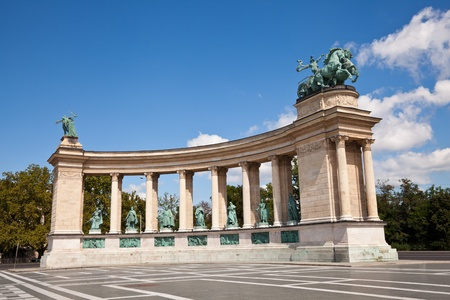 predecessor: heroes square in budapest, hungary