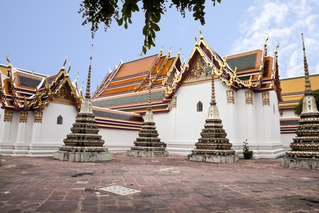 wat pho, bangkok, thailand photo