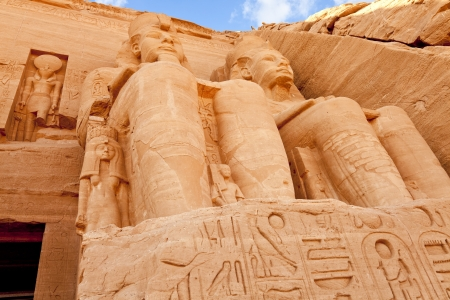 temple of rameses II at abu simbel, egypt photo
