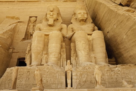 abu simbel, egypt photo