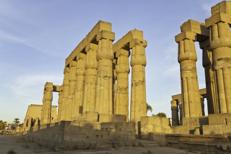 luxor: luxor temple, luxor, egypt