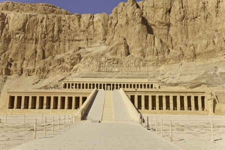 temple of hatshepsut, luxor, egypt photo