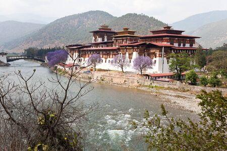 Bhutan: punakha monastery in, bhutan