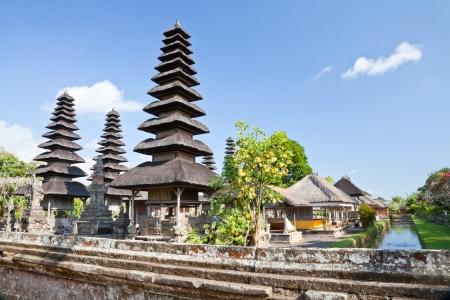 taman ayun temple, bali, indonesia photo