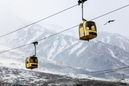 kashmir: gulmarg gondola in kashmir, india