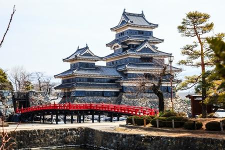matsumoto: Black matsumoto castle, Japan Editorial