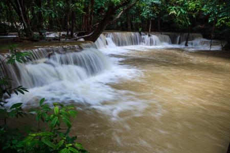 Tropical rain forest waterfalls Stock Photo - 21503545