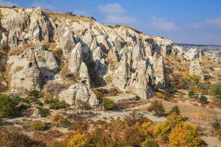 �rock formation�: Fairy chimney rock formation in cappadicia, turkey