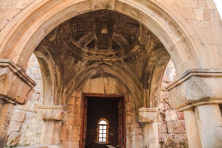 gelati: Inside The Gelati Monastery Complex near Kutaisi, Georgia