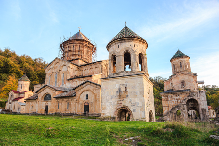 gelati: Monastic Complex of Gelati located near Kutaisi, Georgia