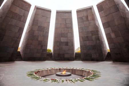 Armenian Genocide memorial is Armenia