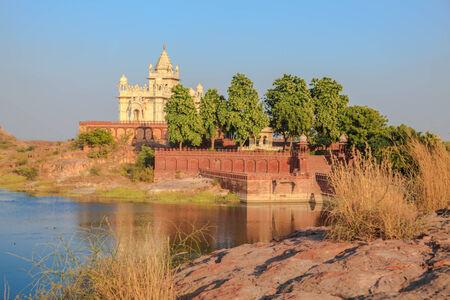 mausoleum: Jaswant Thada Mausoleum in Jodhpur, Rajasthan State, India Stock Photo