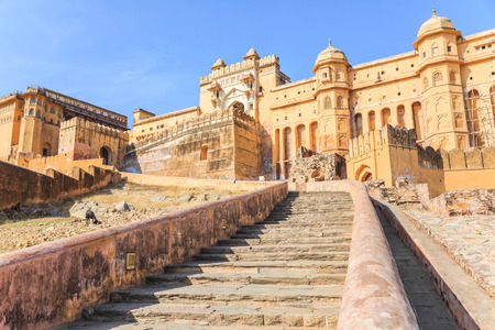 Amber Fort or Amer Fort located in Jaipur, Rajasthan state, India