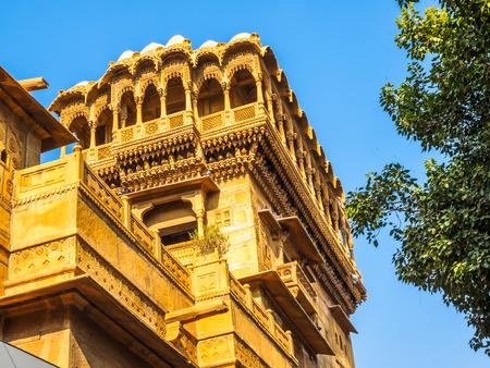 haveli: Haveli in Jaisalmer, Rajasthan, India