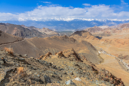 viewpoint: Viewpoint at the mountain road in Leh Ladakh Region India