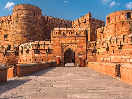 uttar pradesh: Agra Fort site located in Agra Uttar Pradesh India