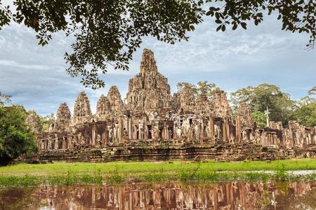 siem reap: Angkor Thom complex in Siem Reap, Cambodia