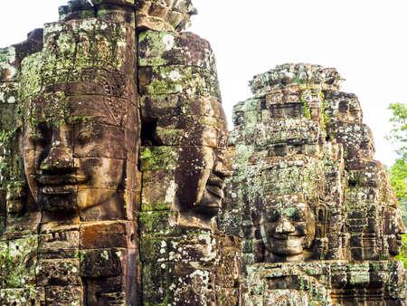 siem reap: Bayon Temple in Siem Reap, Cambodia