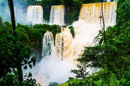 argentinean: Iguazu Falls, the largest Waterfalls at the Argentinean border