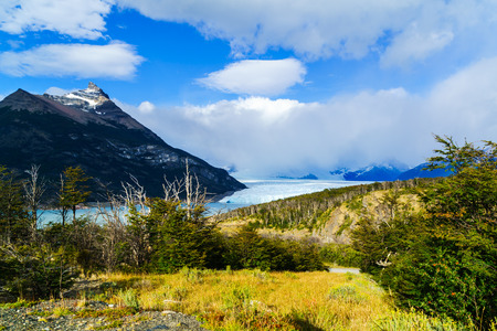 perito moreno: Perito Moreno Glacier in the Los Glacier National Park Argentina