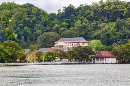 Temple of the Sacred Tooth Relic in The Royal Palace Complex Of The Former Kingdom Of Kandy, Sri Lanka