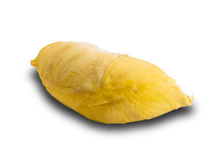 Durian isolated on white background with clipping path. The tropical fruit of unpleasant smell but delicious Reklamní fotografie