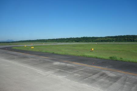 airstrip: airport airstrip