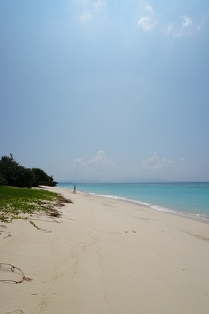 ie: GI beach in southern Ie island in Okinawa, Japan