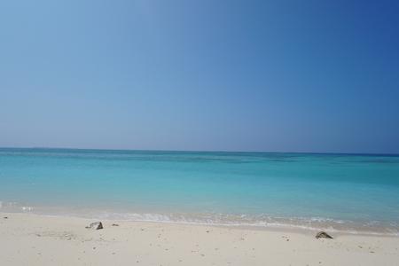 gi: GI beach n southern Ie island in Okinawa, Japan