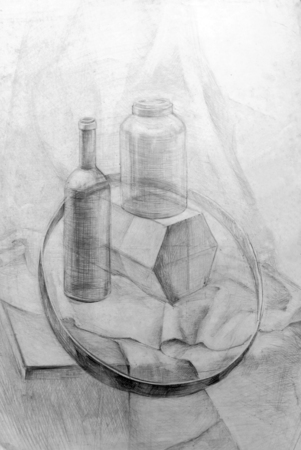 abstract academic: academic drawing pencil,training figure