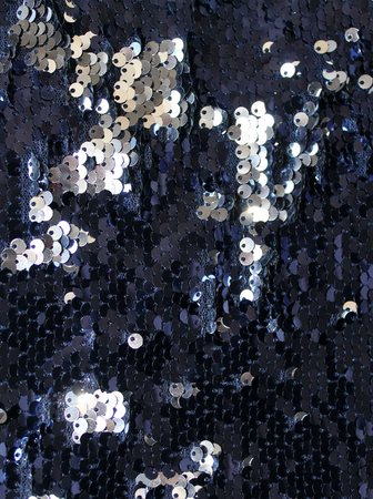 sequins as background, round sequins in fashion dress, Colorful sequined texture. metallic sparkling sequins scales background