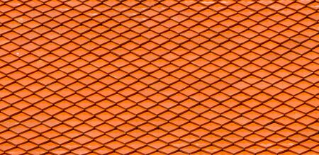 buddhist temple roof: Ceramic tile Patterns of the Thai temple roof  Stock Photo