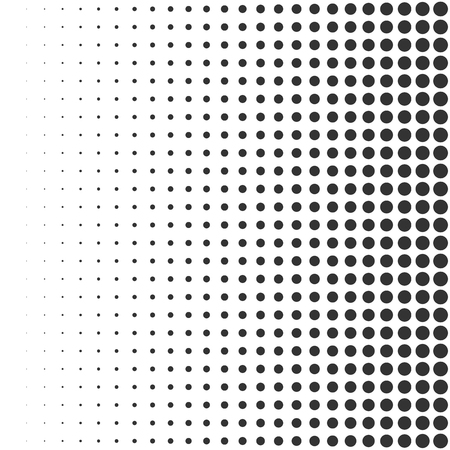 Abstract geometric halftone background. Vector dotted illustration Çizim