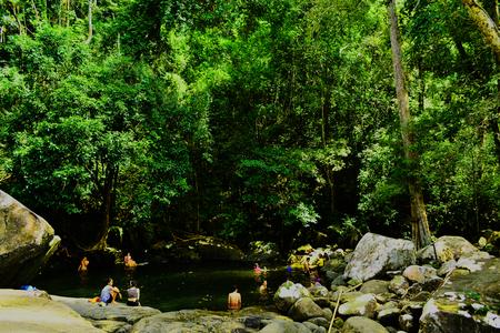 cataract waterfall: waterfall, cascade, fall, cataract, stone, rock, boulder