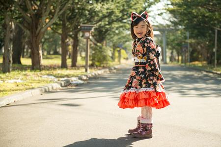 rightwing: Girl wearing kimono