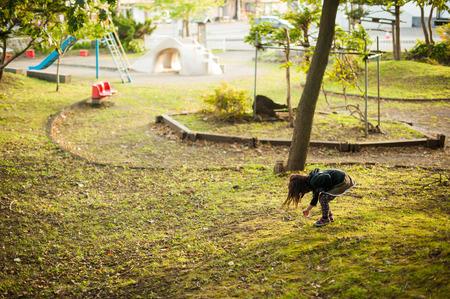 Children find the Acorn
