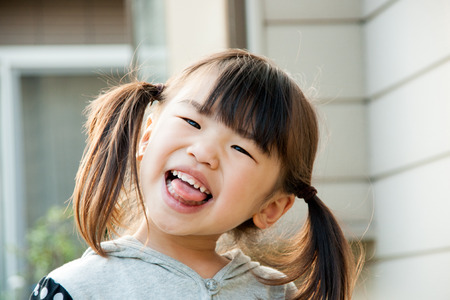 Sweet smile girl