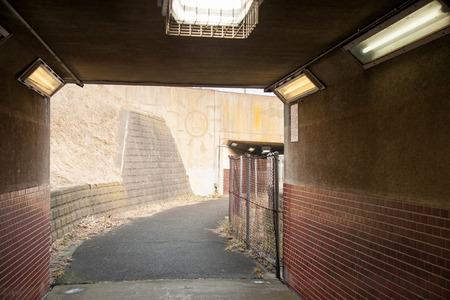 pedestrian: Pedestrian tunnel
