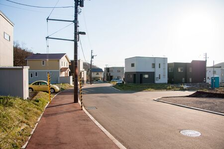residential area: Residential area in Japan