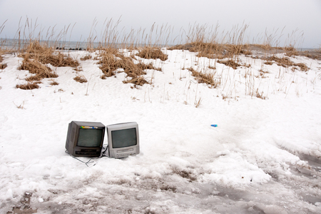 waste products: Dumping the TV