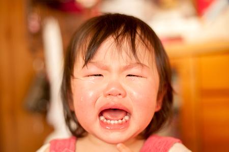 tantrums: Un bambino che piange