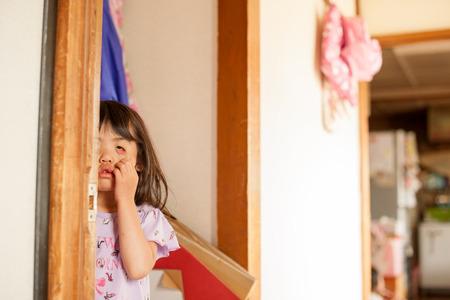 Funny face girl