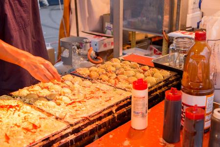 stall: Takoyaki stall