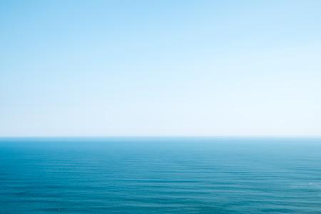 Sea horizon and sky