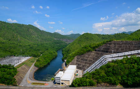 dams: Read dams that store water and electricity.