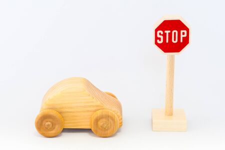 labelling: Traffic sign and car
